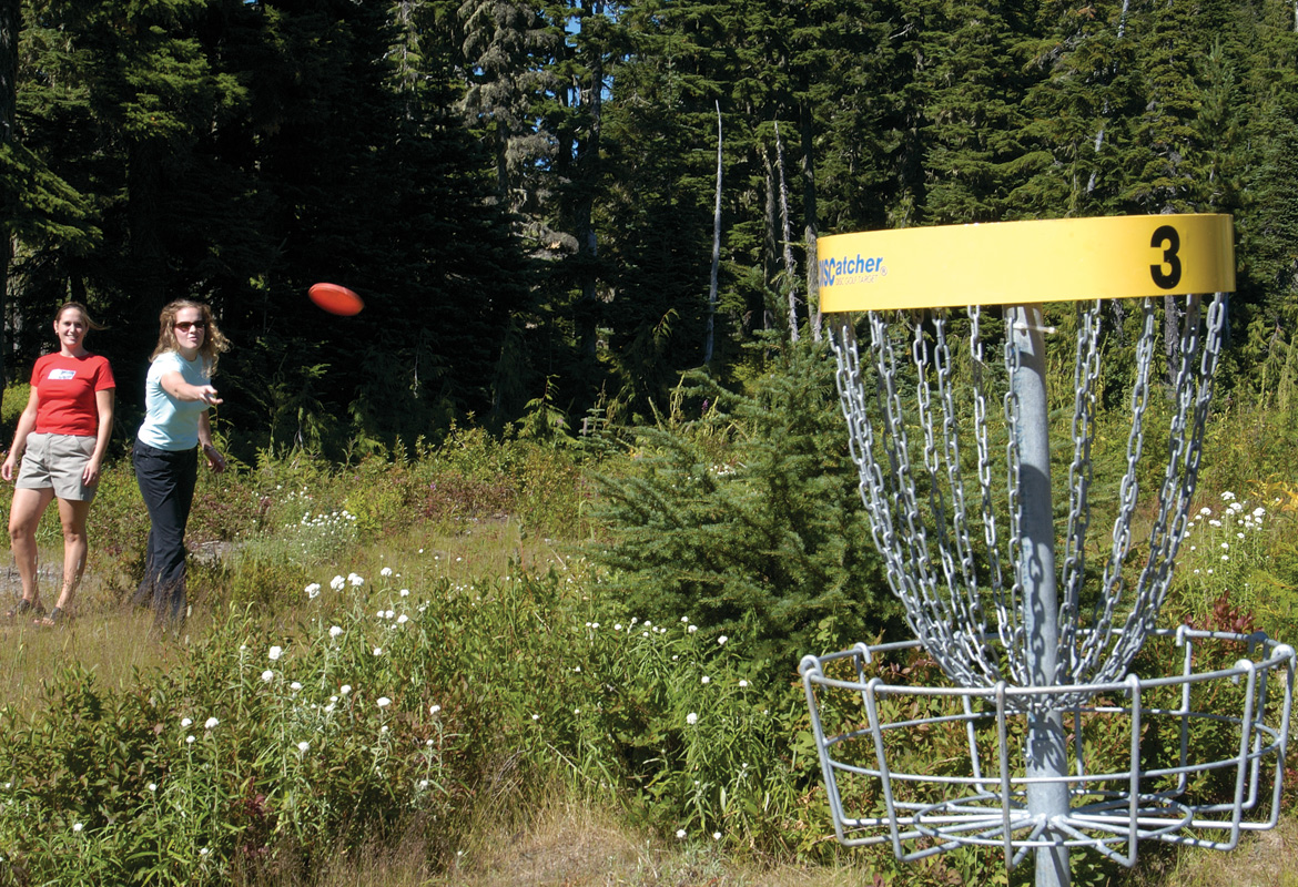 Disc Golf at Mount Washington
