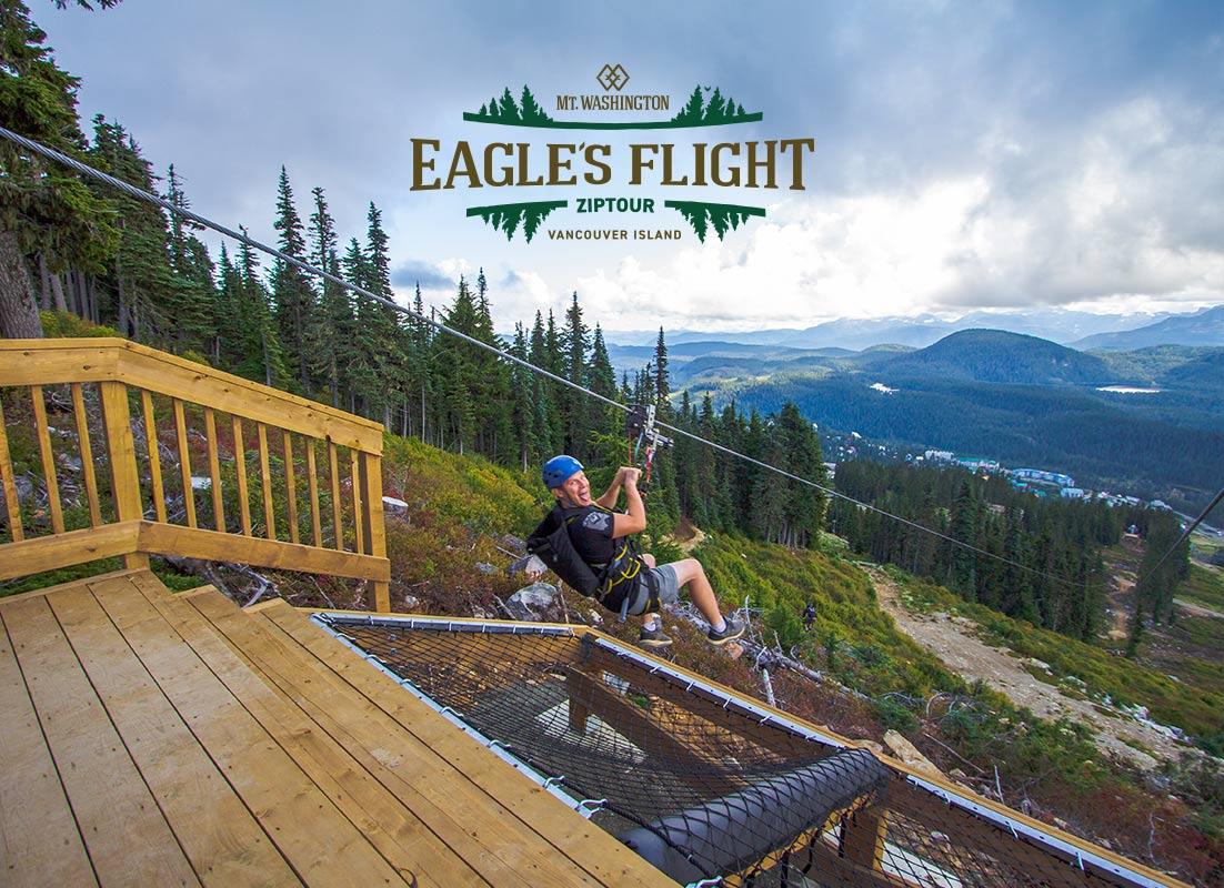 Eagle's Flight ZipTOur at Mount Washington