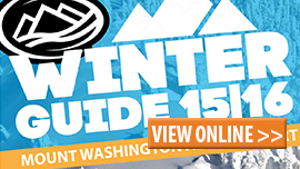 mount Washington ONline Winter Guide